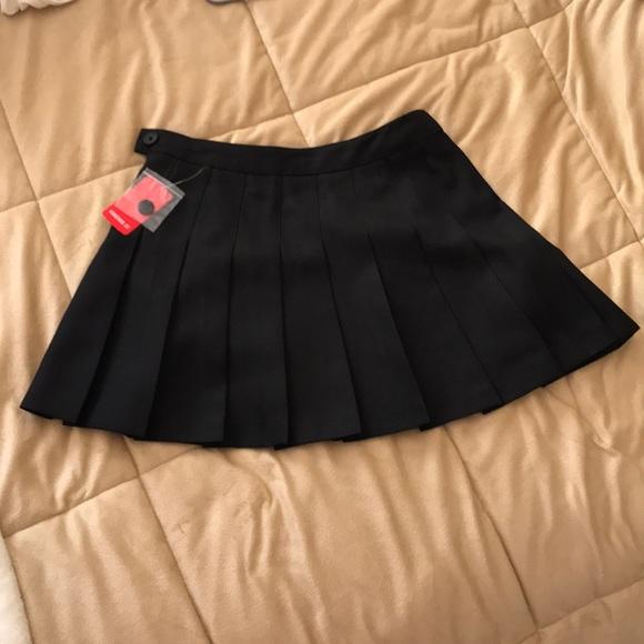 Short black school girl skirt 4c284acaa7a6
